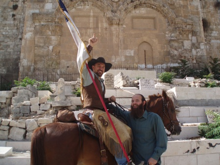 Bits and Spurs - via Couy make it to Jerusalem